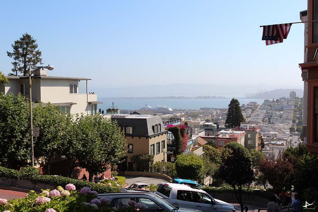 Vista da Lombard St