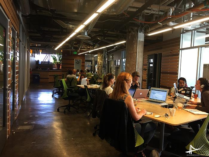 Impact Hub coworking space em San Francisco