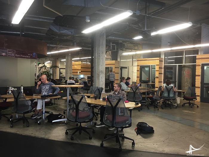 Coworking Impact Hub em San Francisco