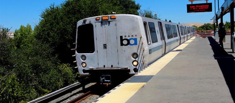 BART - Principal transporte da Baía de San Francisco