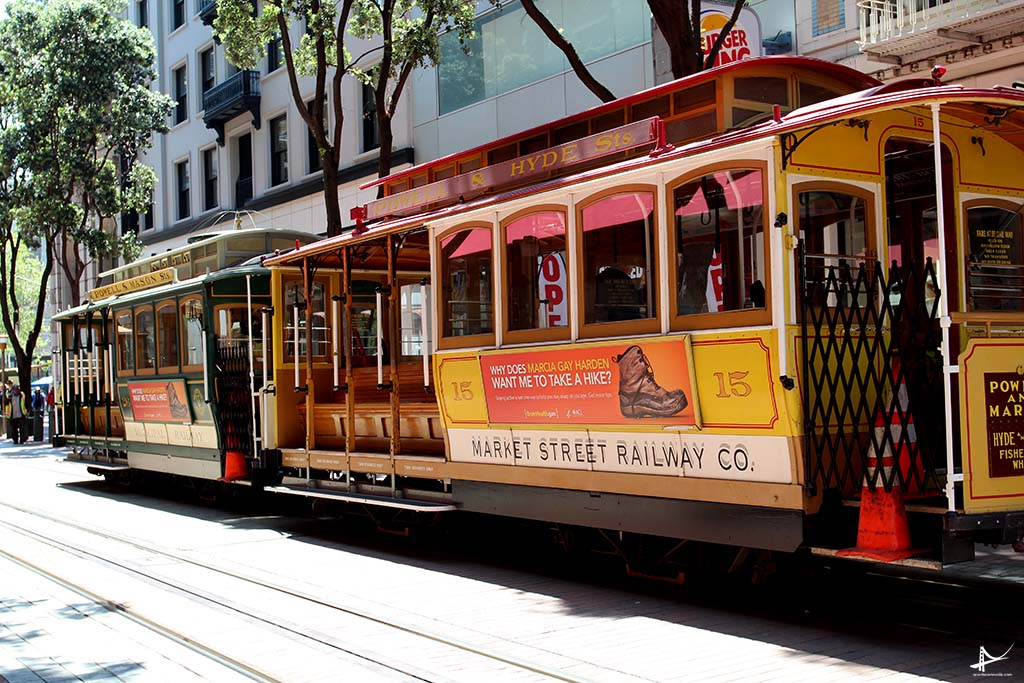 Cable car - Powell
