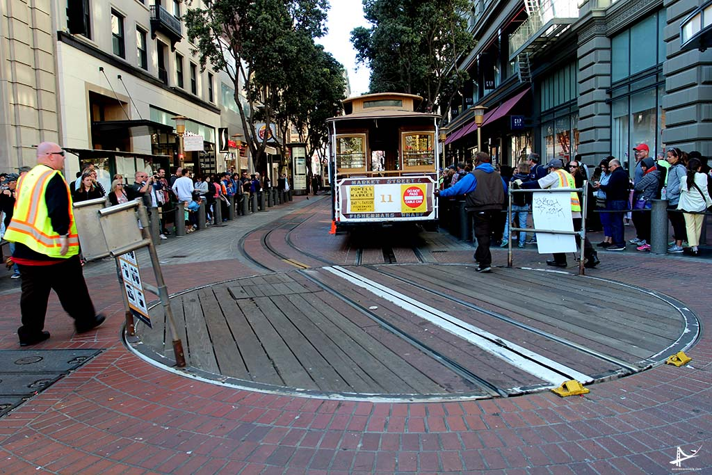Cable car turnround