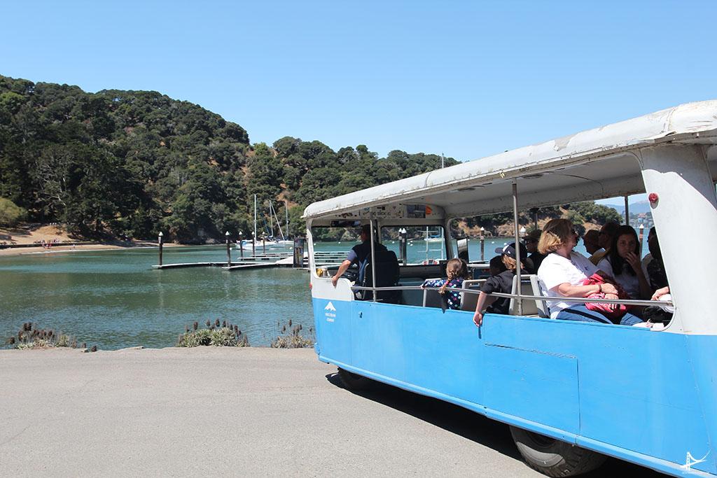 Tram na Angel Island