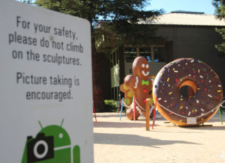 Android Statue Garden