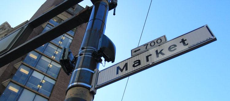 Market Street em San Francisco