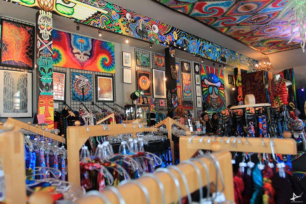 Uma das lojas da Haight