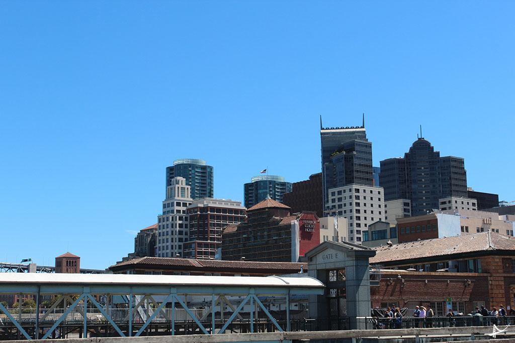 Gate E ao lado do Ferry Building