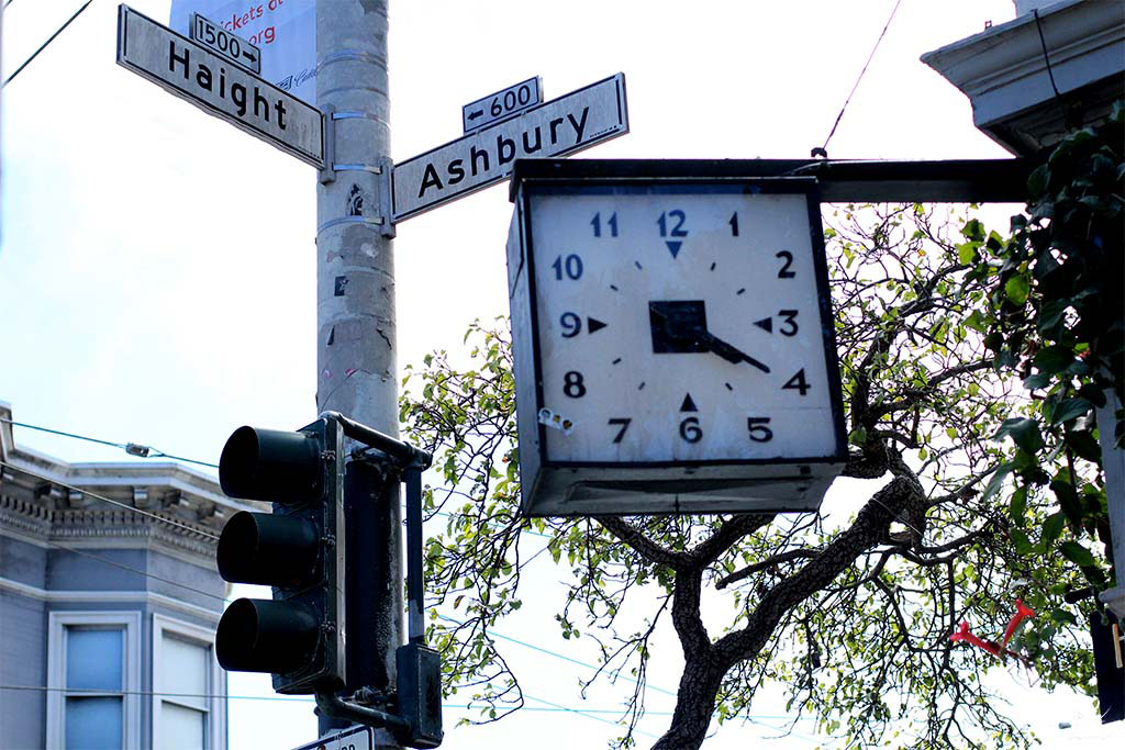 Haight- Ashbury - a esquina mais famosa de San Francisco