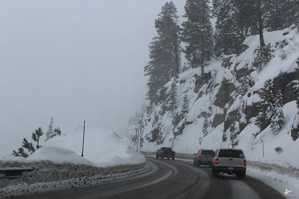 Dirigir com neve