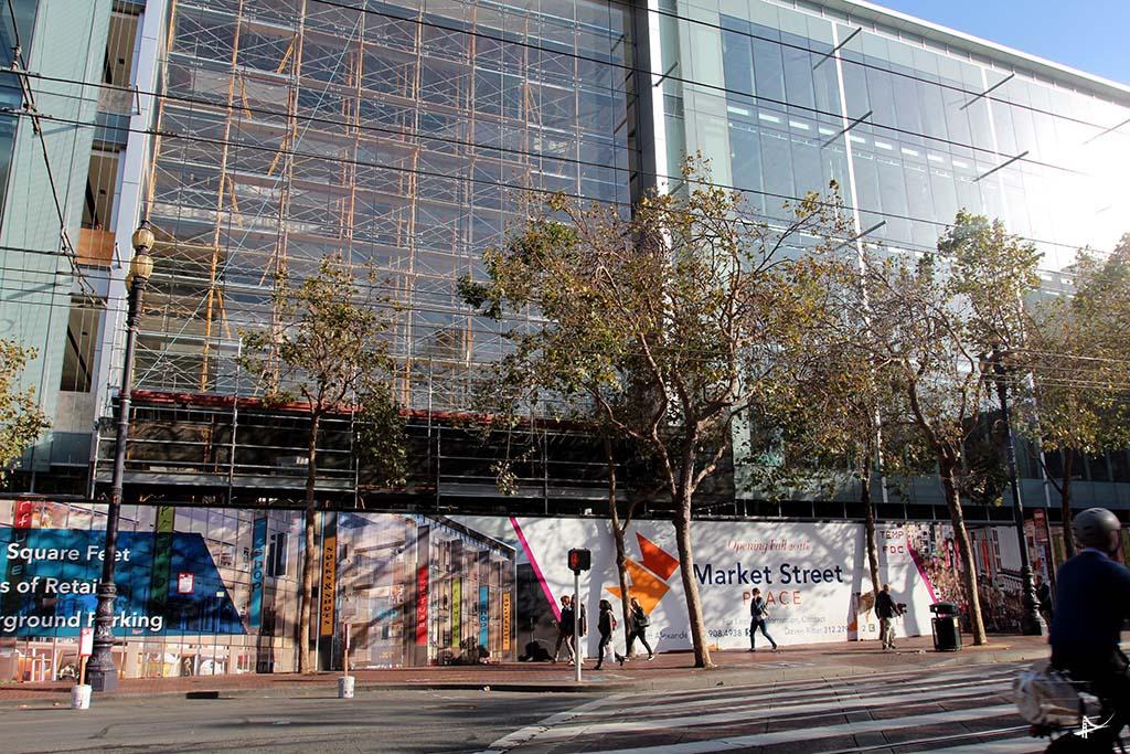 Novos prédios e reformas na Market Street