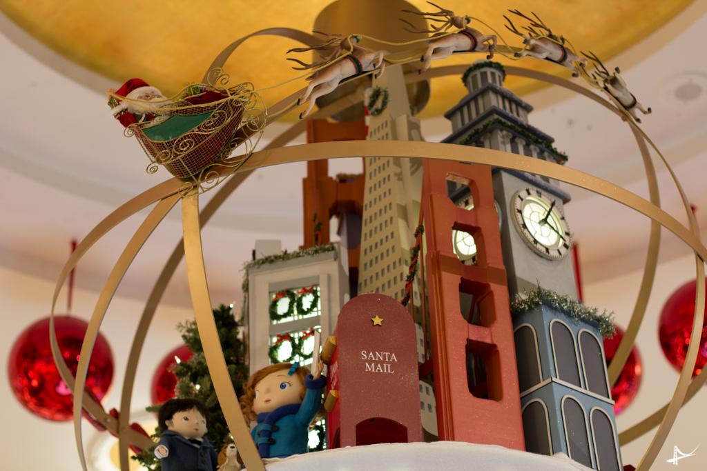 Decoração de Natal na Macy's