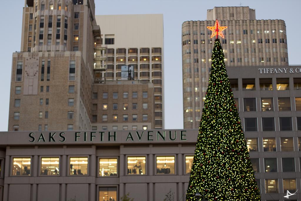 Árvore de Natal da Macy's na Union Square