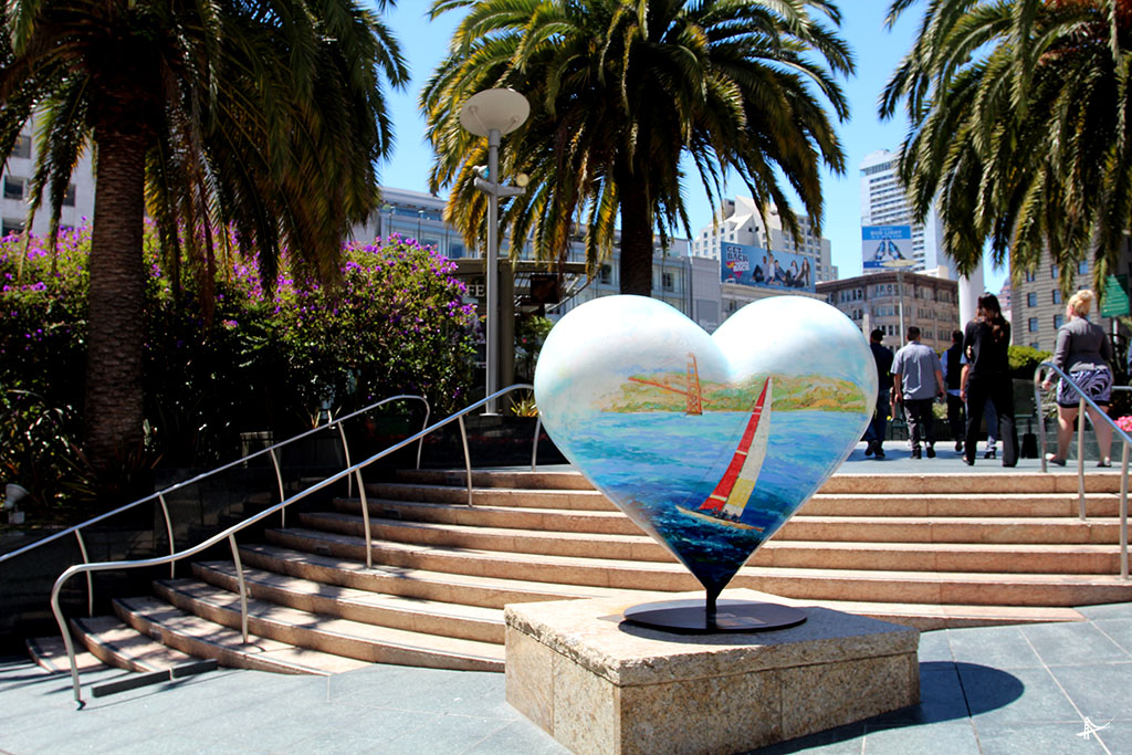 Praca Union Square em San Francisco