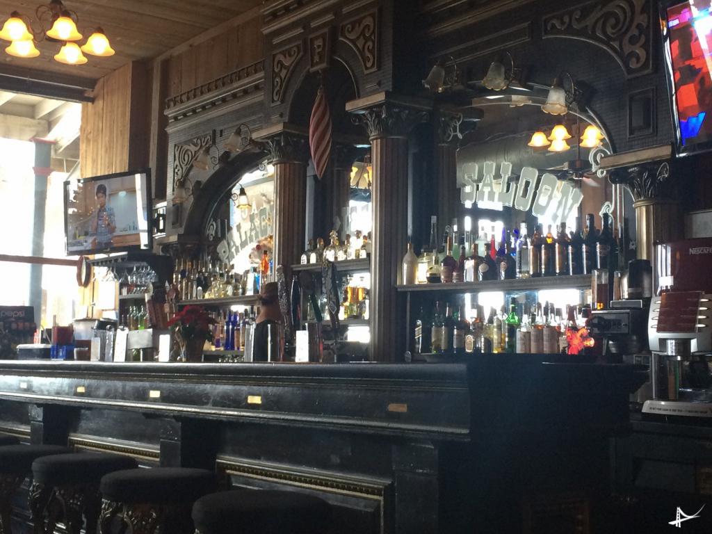 Saloons em Virgínia City