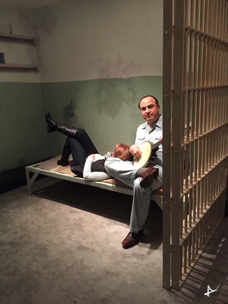 Com Alcapone no Alcatraz