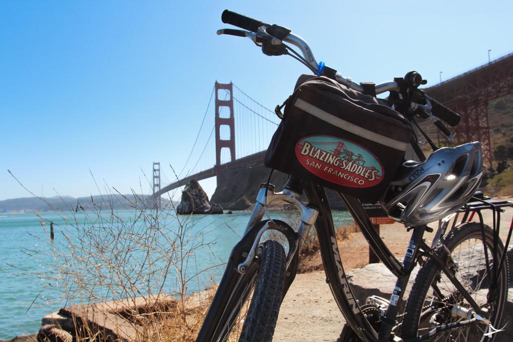 Bike pela Golden Gate Bridge