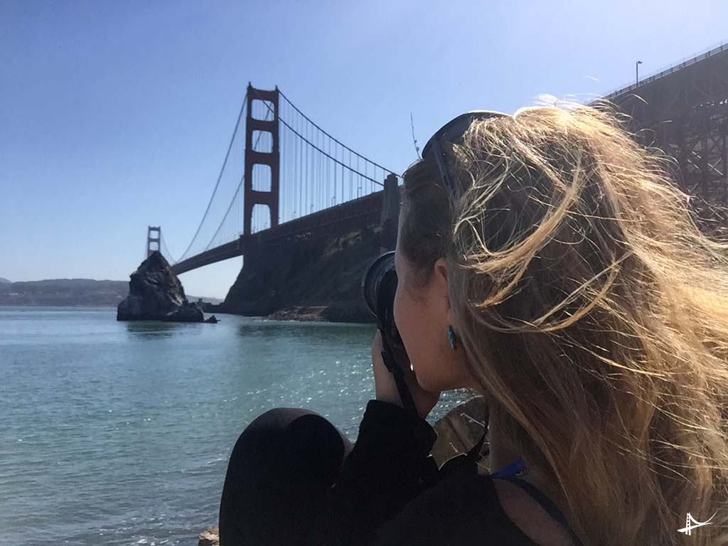 Fotografando a Golden Gate