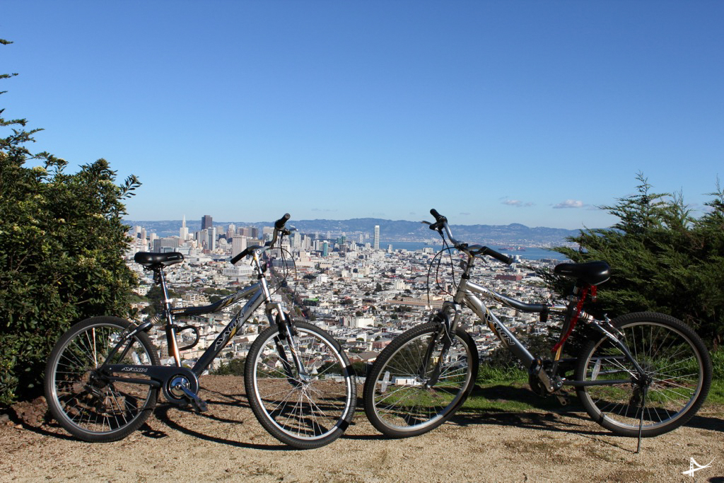 Twin Peaks de bicicleta