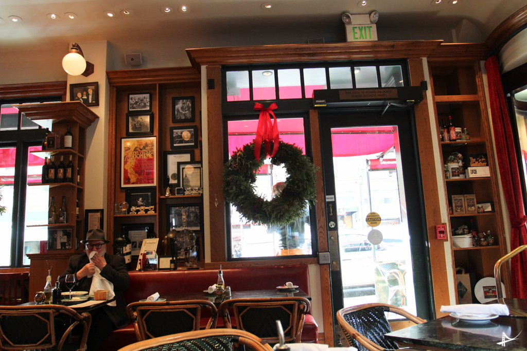 Cafe Zoetrope, o restaurante do Coppola em North Beach