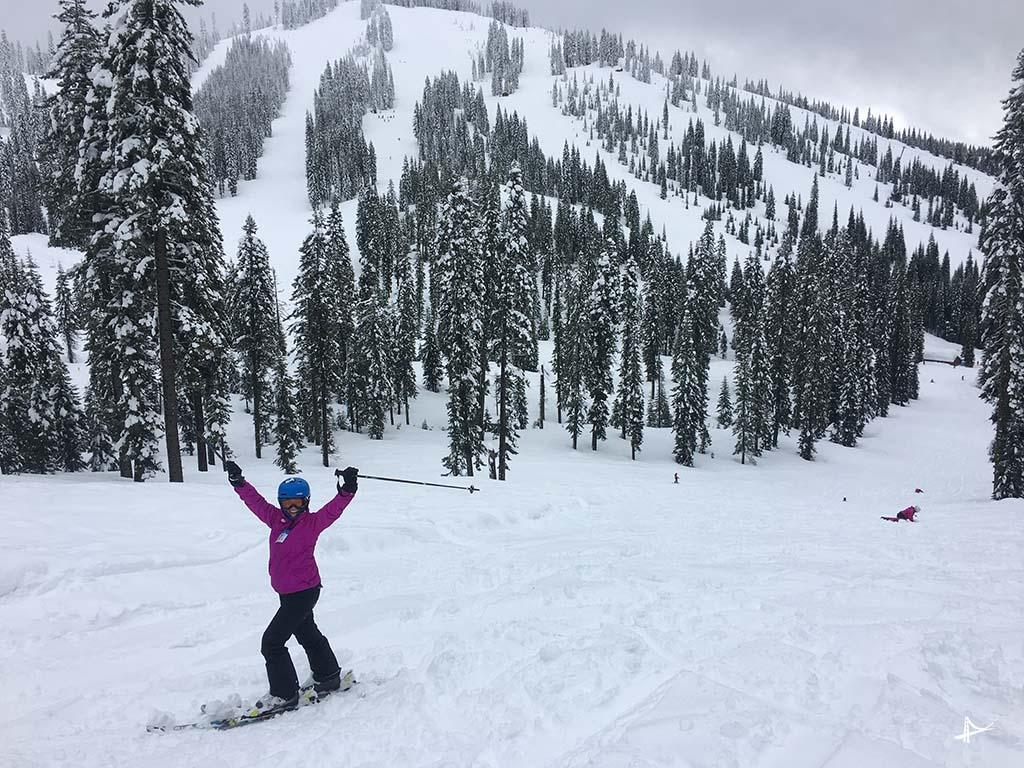 Esqui em Shasta