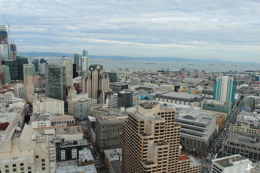 Happy hour com a melhor vista de San Francisco