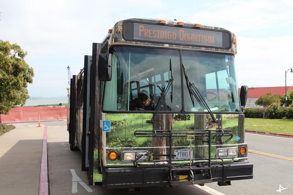 Transporte gratuito para o Presidio