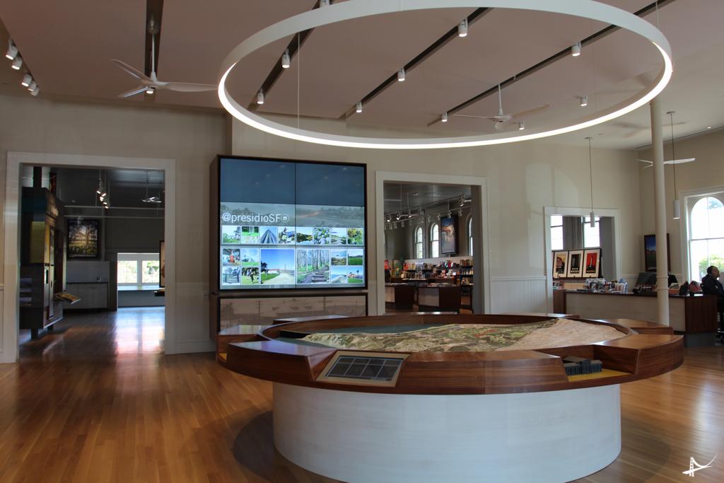 Visitor Center no Presidio