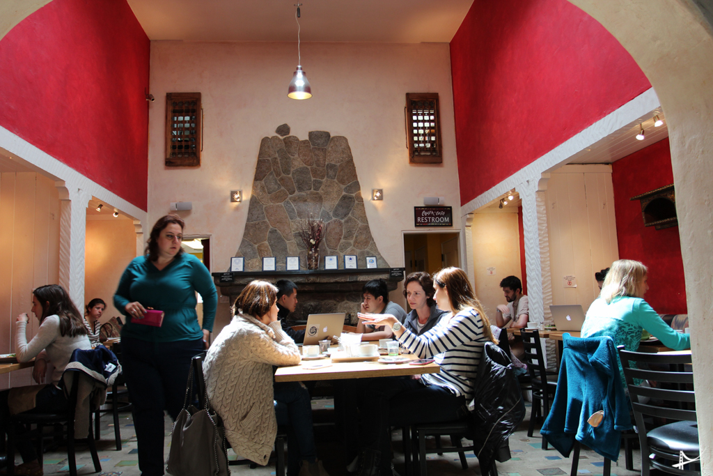 Coupa Cafe em Palo Alto
