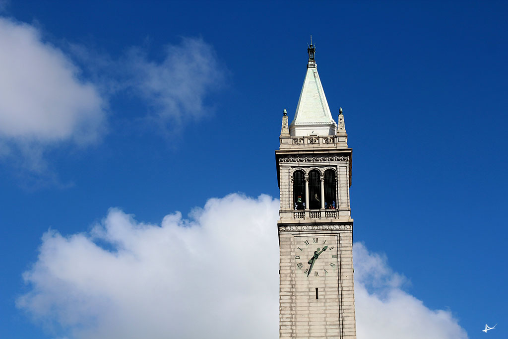 Sather Tower na UC Berkeley