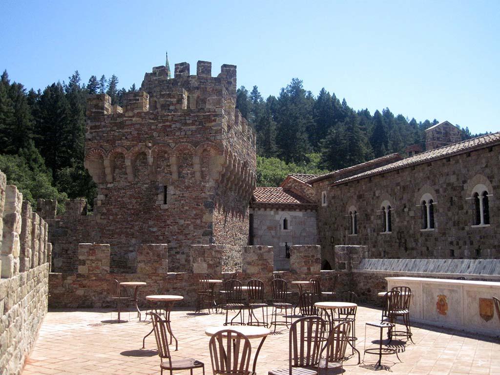 Castelo di Amorosa em Napa