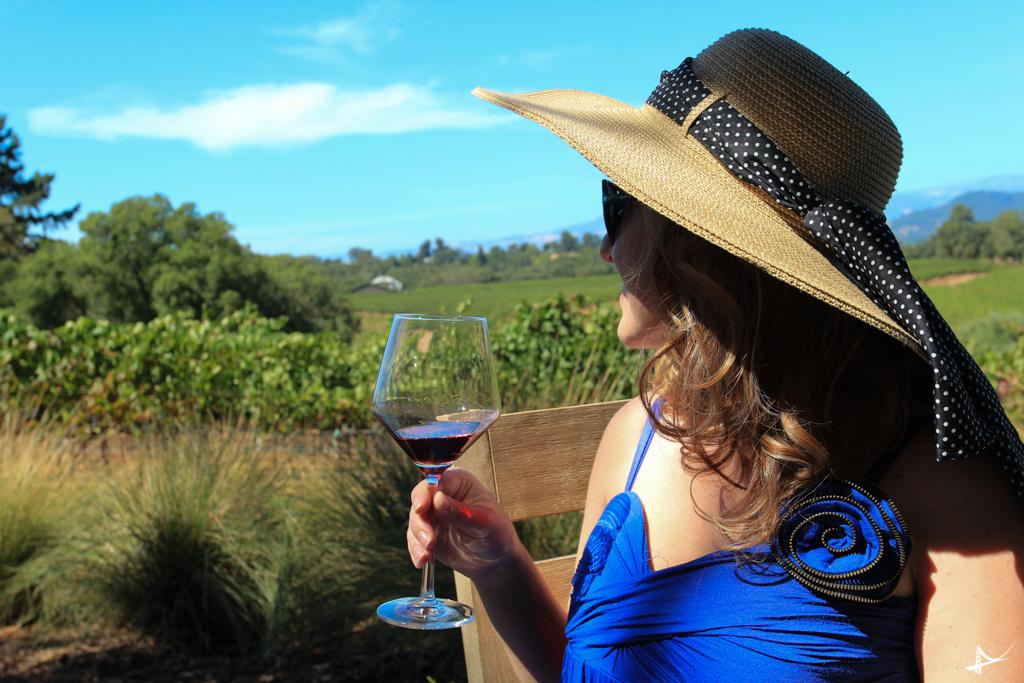 vinho em Sonoma