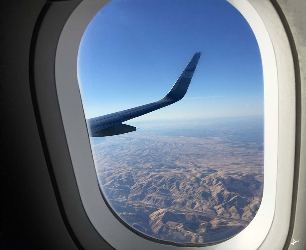 Passagem aérea para estudantes