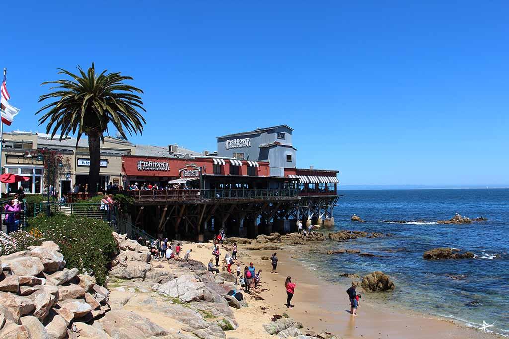 Fisherman's Wharf em Monterey