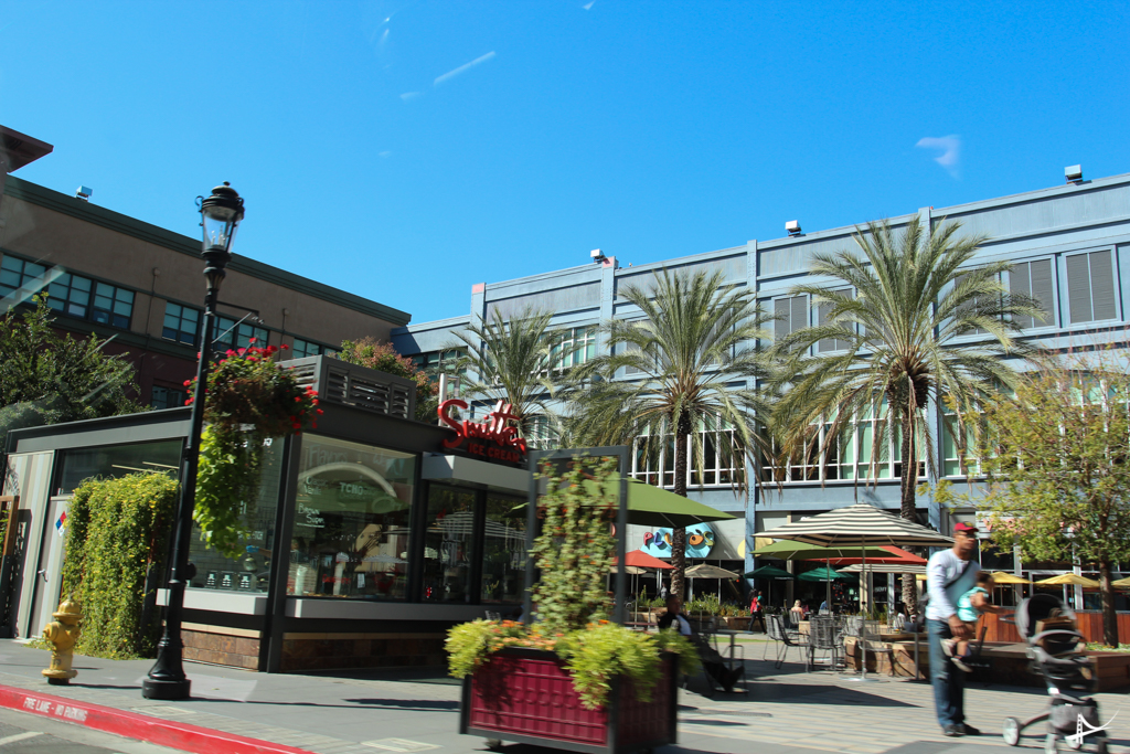 Santana Row em San Jose