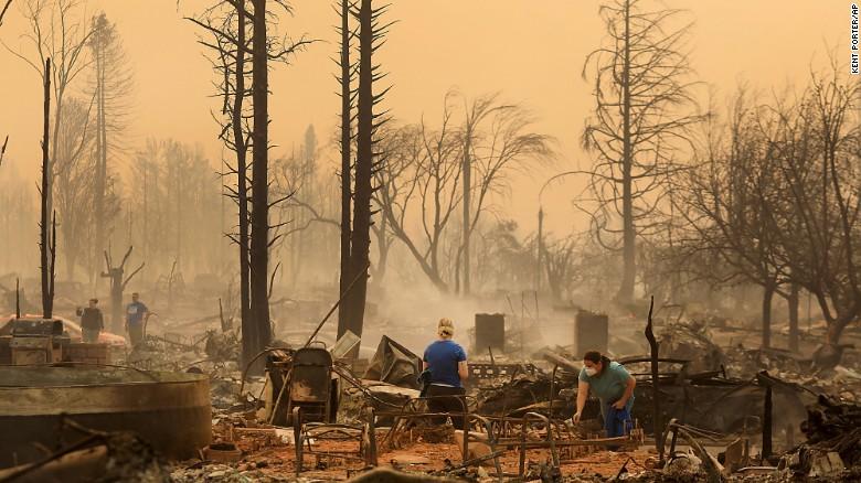 Incêndio em Napa