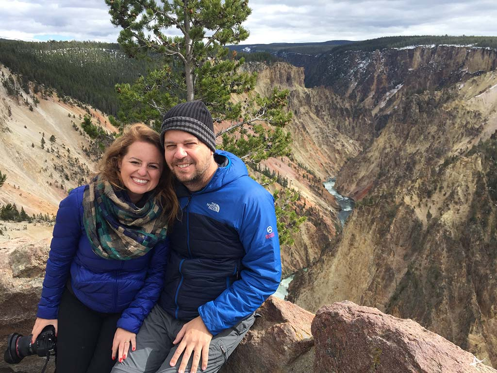 Grand Canyon do Yellowstone