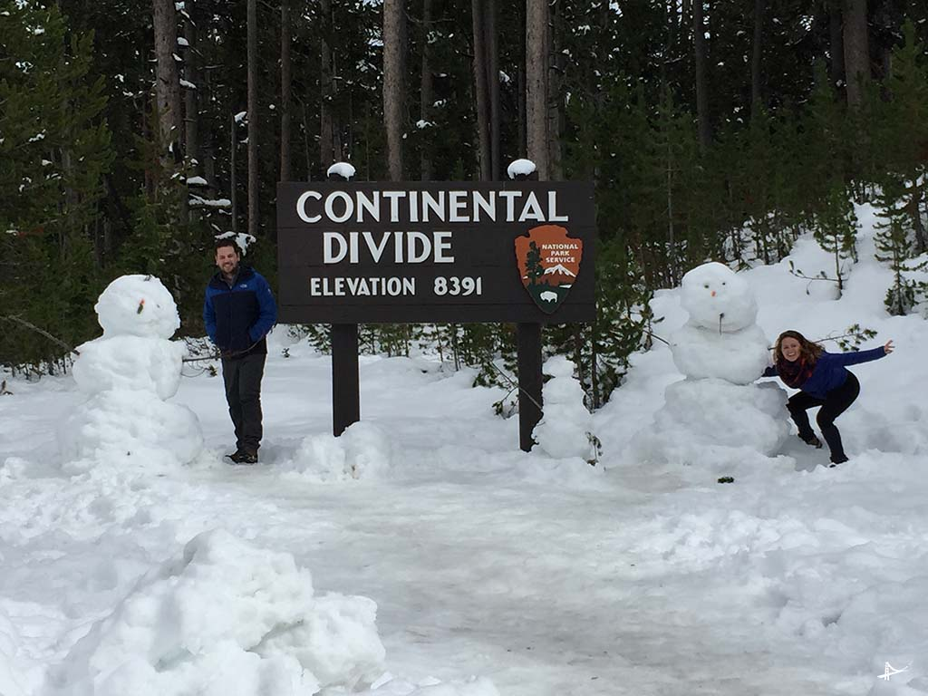 Continental Divide no Yellowstone