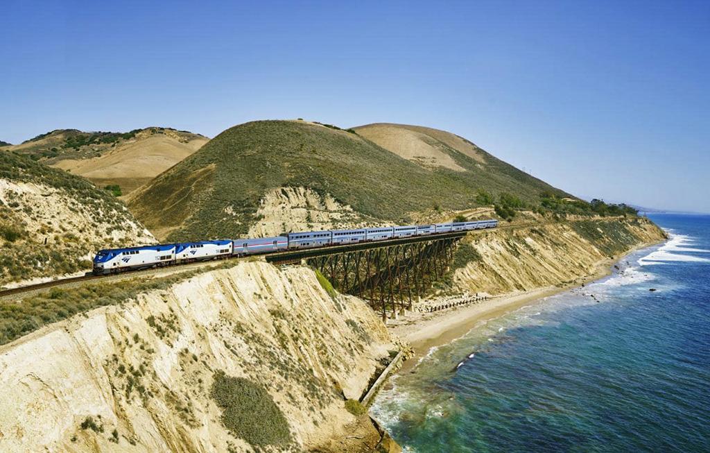 Viagem de trem pela California