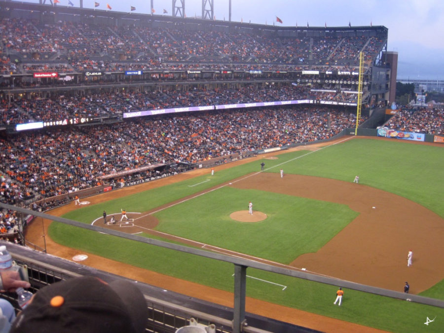 Jogo dos Giants no AT&T Park