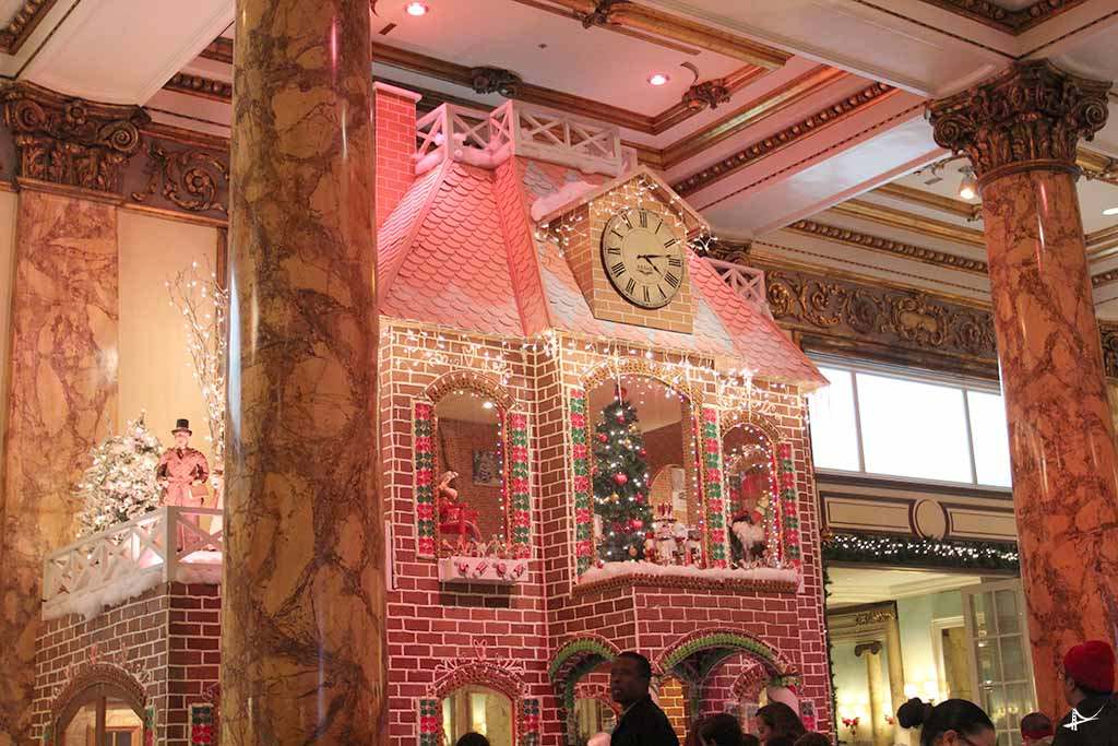 Gingerbread no Fairmont em San Francisco