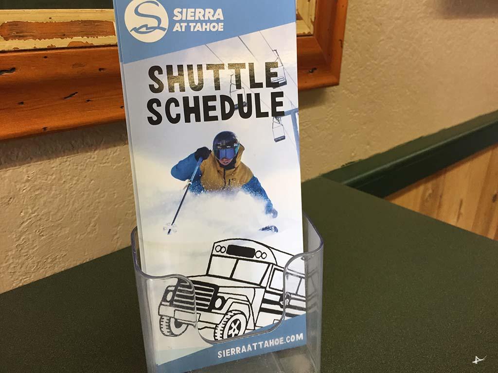 Shuttle para Sierra