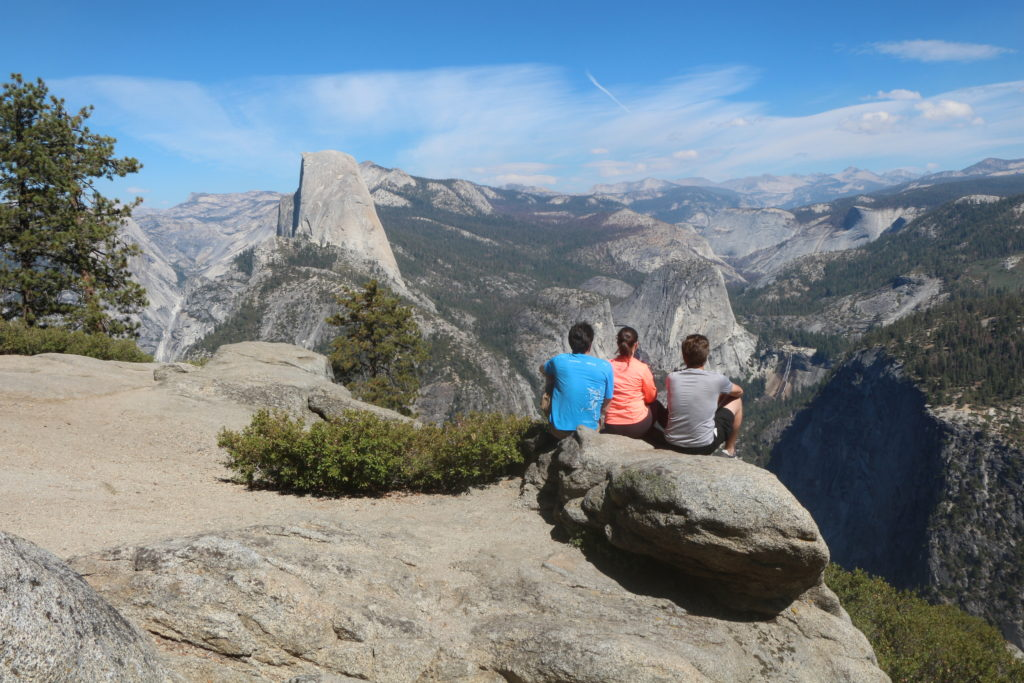 Glacier Point no Yosemite