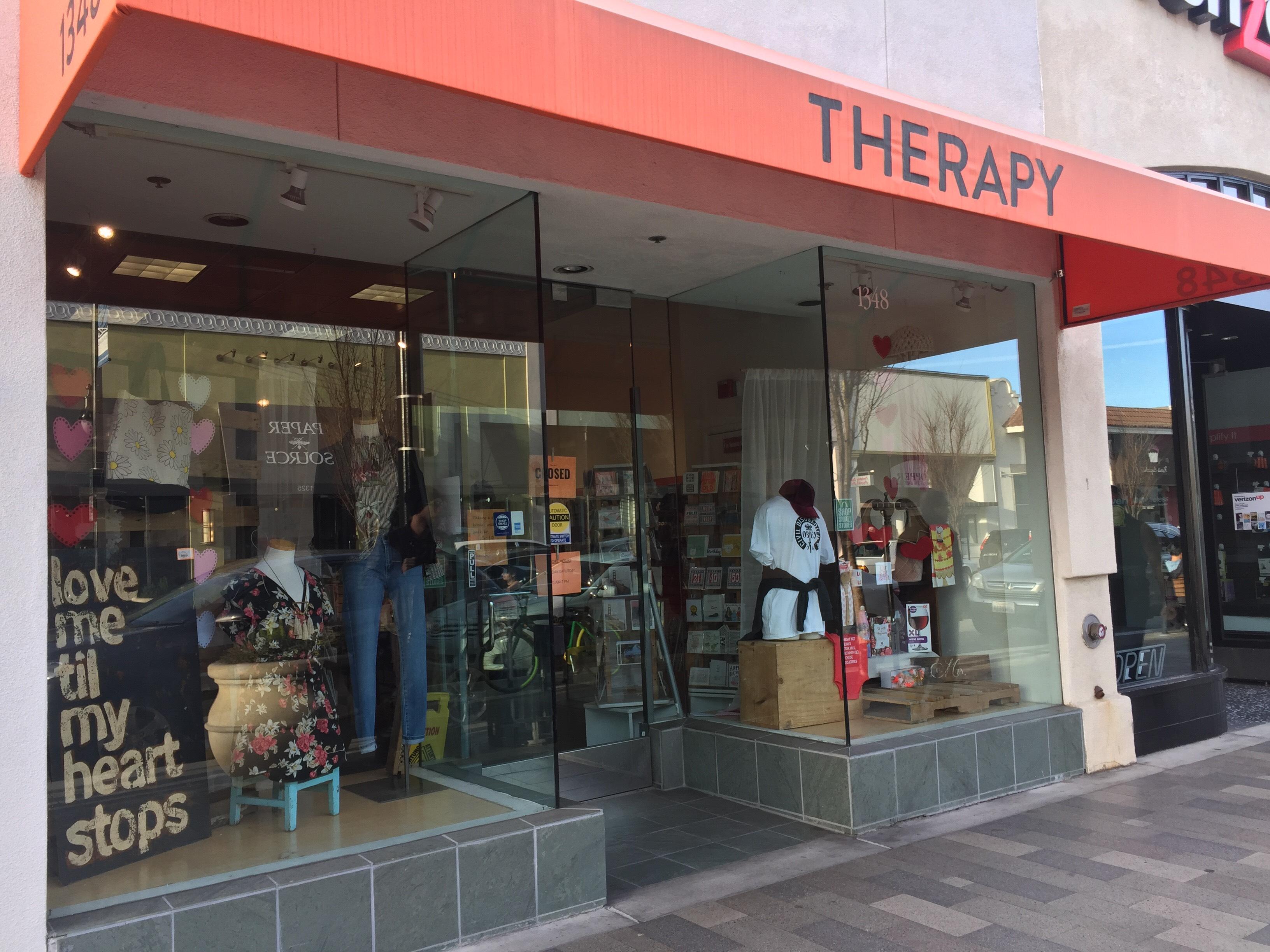 Loja Therapy em Burlingame