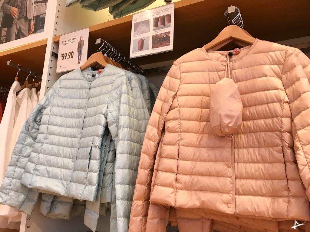 jaquetas do saquinho