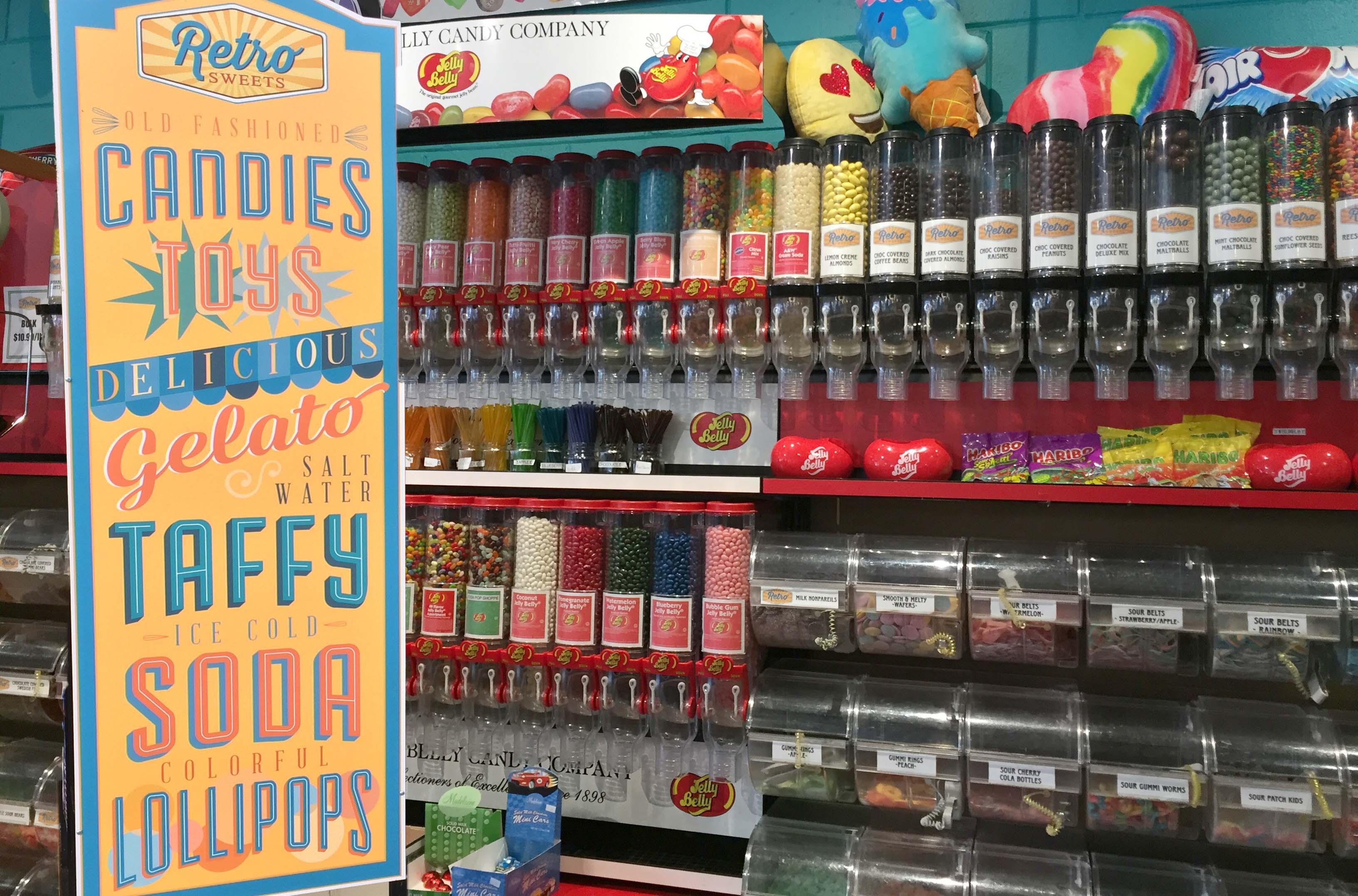 Loja de doces em Burlingame