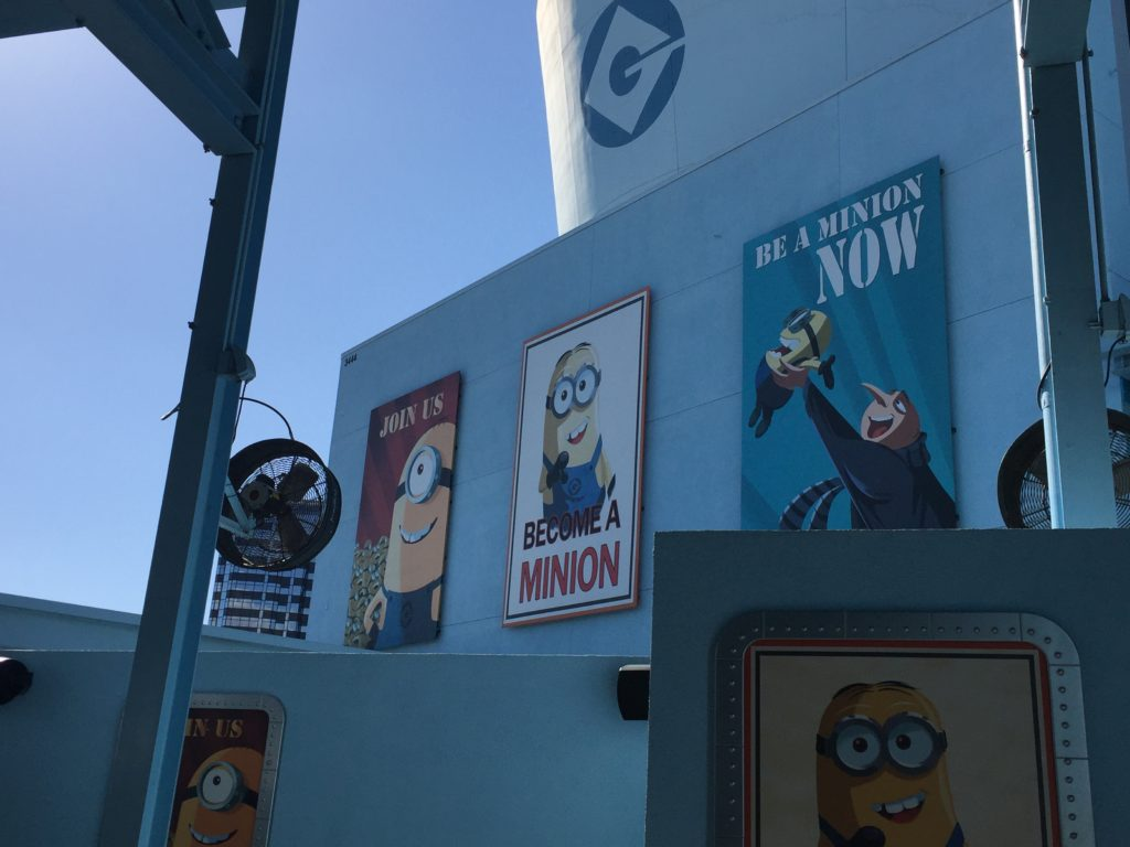 Minion na Universal Studios