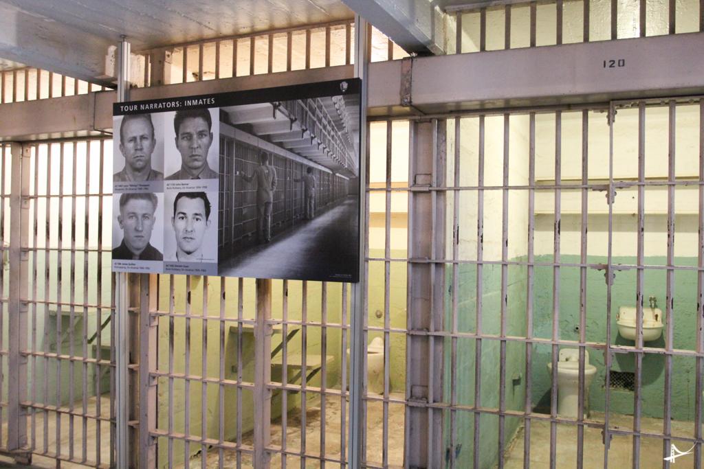Tour no Alcatraz