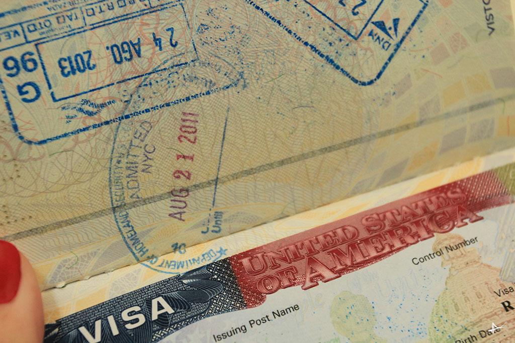 data de saída no passaporte