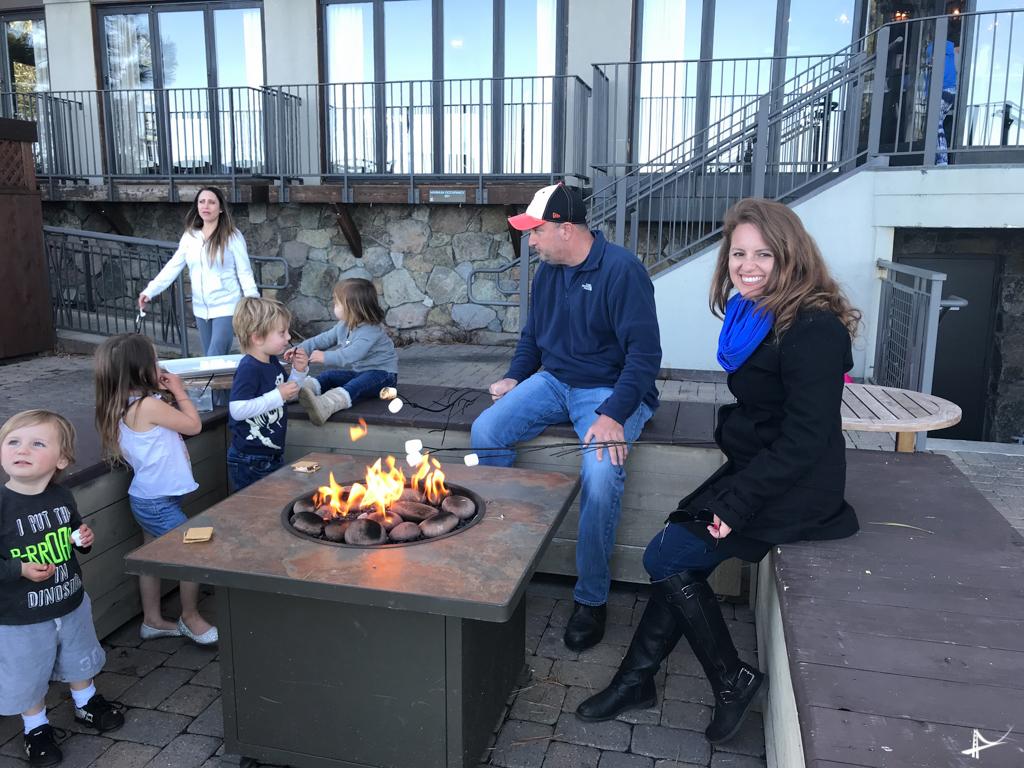 Hora do Smores em Tahoe