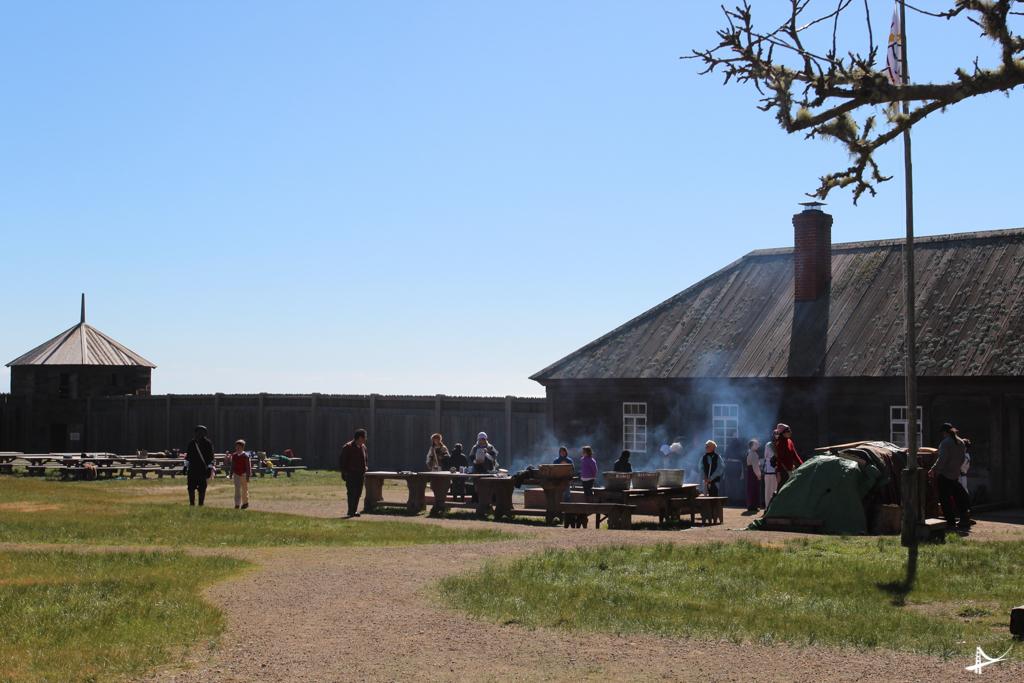 Fort Ross em Sonoma